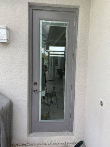 handyman door install after